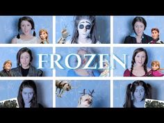 ▶ One Woman Frozen Medley | Georgia Merry - YouTube