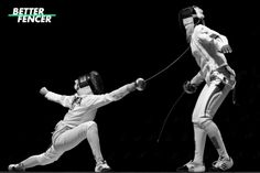 Fencing exercises for speed, strength and flexibility