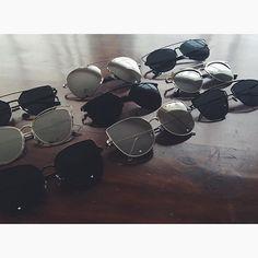 BLACK & SILVER TONES ❤️ #irasunglasses #black #sunglasses #ootd #giveaway #beauty #fashion
