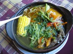 Cazuela chilena Chilean Recipes, Chilean Food, Tasty, Yummy Food, Latin Food, I Love Food, Soups And Stews, Dishes, Vegetables