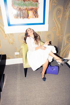 Sarah Jessica Parker on The Coveteur. #fashionmoment #sarahjessicaparker #thecoveteur