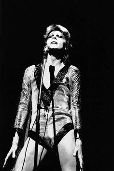 David Bowie photographed by Masayoshi Sukita, 1973.