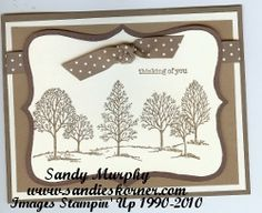 Lovely As A Tree by Sandy Murphy - Cards and Paper Crafts at Splitcoaststampers