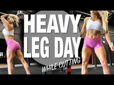 Can You Do a Heavy Leg Workout while Cutting? Ask Jen Heward @hunnybunsfit
