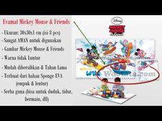 Karpet Alas Main Anak Evamat Mickey Mouse
