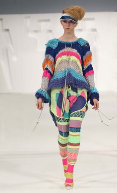 Alison Woodhouse | New Designer | Wish there were more fabulous knits like this out there!