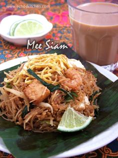 ... Echo's Kitchen: Mee Siam (Malaysian Spicy Fried Rice Vermicelli