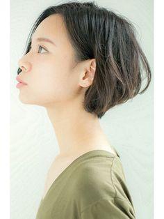 ユーフォリア(Euphoria SHIBUYA GRANDE)【Euphoria】サイドシルエットが美しい耳かけショートボブ☆