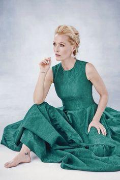 Gillian Anderson, Photo by Philip Sinden for Harper's Bazaar UK