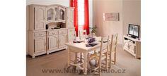Rustikální nábytek do jídelny Dax
