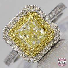 I would love to have an actual vintage engagement ring. I like the yellow tones in this one.
