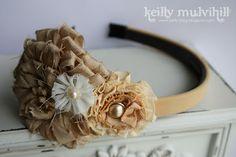 Keillys Little Blog: Prima Flower Headband