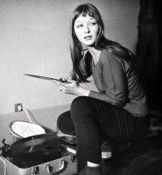 Marina Vlady 1956 #vinyl #records #turntables http://www.pinterest.com/djspyder/edisons-medicine-vinyl-records/