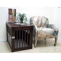 Crown Pet Large Espresso Table Crate - $284.99