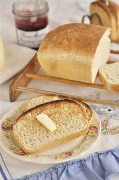 English Muffin Bread  (This also has recipe for challah bread)