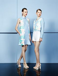 Cacharel Ready To Wear Spring Summer 2014 Paris - NOWFASHION