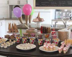 Ice Cream Bar... Fun idea for kids! This is the winner!!!!