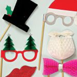 Christmas photo-props by MeriMeri
