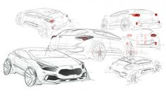2013 Kia pro_cee'd GT: design sketch - Car Body Design