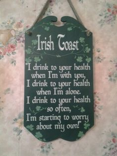 Irish Toast