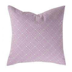 Caitlin Wilson Textiles: BRIGHT BERRY GREEK KEY PILLOW