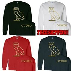Ovo sweater Drake October's very own crewneck by SenseOfCustom, $19.99