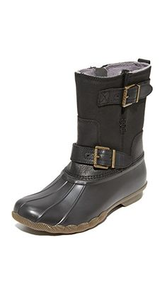 SPERRY | Saltwater Acadia Boots #Shoes #SPERRY