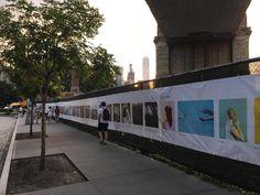 Public Art - Brooklyn Bridge Park Brooklyn Bridge Park, Public Art, Fair Grounds, New York, Building, Places, Travel, New York City, Viajes