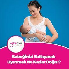 Bebeğinizi sallayarak uyutmak ne kadar doğru? #gebecom #gebeonline #hamile #gebe #uyku #bebekuyutmak ▶️goo.gl/4R6t2Q