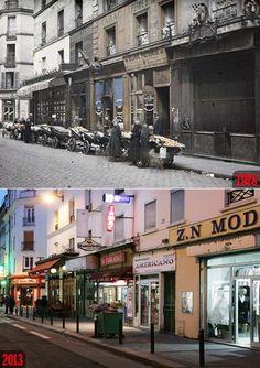 Paris Then and Now: Rue Basfroi