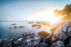 Croatia, kroatien, Vor, Meer, Sea, Sonne, Urlaub, Strand, Felsen, Abendsonne, Sonnenuntergang, Küste,