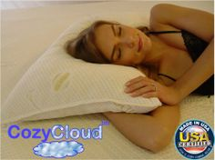 Memory Foam Pillow: The Cozy Cloud