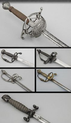 Wallace Collection Swords. Possible Sally Bennett sword