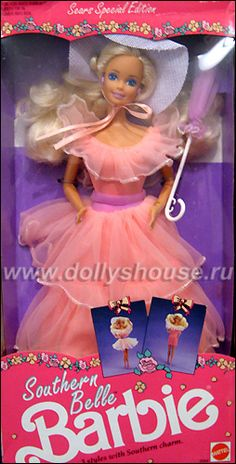 """Southern Belle Barbie (1991) - """"Tell Mama or Nana that I want this!"""""""