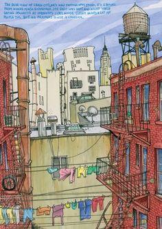 Tommy Kane's Art Blog: Old Time New York