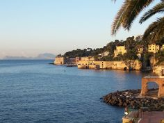 Naples, Italy: beautiful views of Posillipo hills Naples Italy, Southern Italy, New City, Amalfi Coast, Italy Travel, The Good Place, Beautiful Places, Villa, Tours