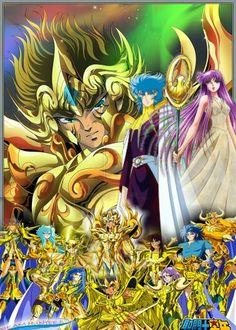 Os cavaleiros do zodiaco alma dourada