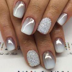 25 of the most beautiful nail designs to inspire you - new women& hairstyles - Nageldesign - Nail Art - Nagellack - Nail Polish - Nailart - Nails - Fancy Nails, Trendy Nails, Cute Nails, My Nails, Pink Nails, Gel Nail Designs, Cute Nail Designs, Nails Design, Winter Nail Designs