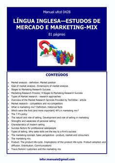 ufcd 0428. Língua inglesa - Estudos de mercado e marketing mix