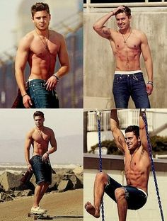"Pretty sure we can shove Zac Efron in the ""Love. Want. Need"" pin board right? We definitely love, want and need him!"