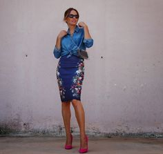 22 Trendy Street Style With Tube Skirts