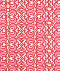 Amy Butler Garden Maze Red Fabric - $8.95 | onlinefabricstore.net