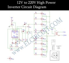 18 best inverter converter images circuit diagram electrical rh pinterest com