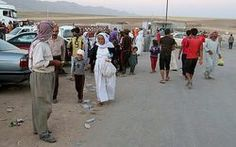 Now it's the Yazidis who are told to convert or die