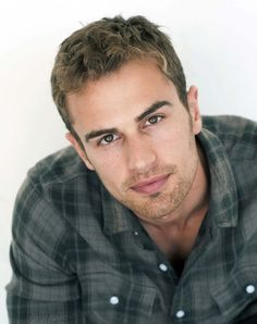 Theo James - My new celebrity crush after watching Divergent this weekend.