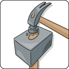 Do you need to drill a hole at a specific angle? Then you can make a wooden drilling accessory with an edge at the same angle. Hold the drill against the angled edge, and then you can be sure you're drilling at the right angle. Tap Washers, Serra Circular, Wooden Plugs, Stainless Steel Screws, Work Tools, Woodworking Jigs, Wooden Handles, Wooden Diy, Hana