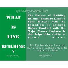 How is your link building going? #digitalmarketing #marketing