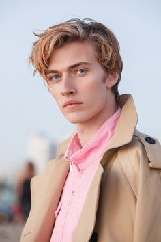Lucky Blue Smith | character inspiration | contemporary hero | piercing blue eyes | blond hair | billionaire | bully romance | academy ML | prep school guy