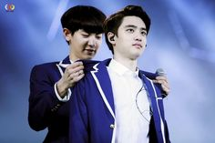 Chanyeol & D.O ©EXOYEAH