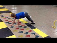 Fun Obstacle course in Physical education - YouTube